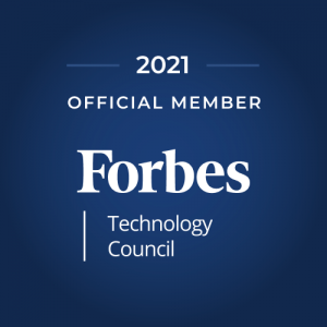 Forbes Technology Council badge