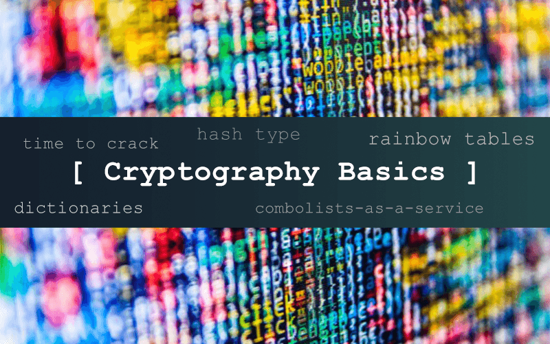 Cryptography of Password Cracking
